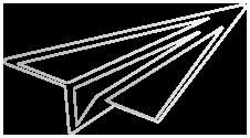 logo avion en papier